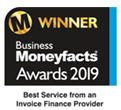 Best Service from an Invoice Finance Provider 2019
