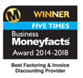 Best Factoring & Invoice Discounting Provider 2014-2018