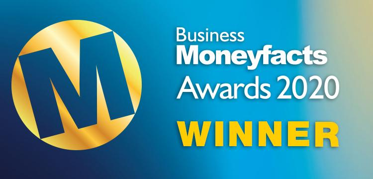 Business Moneyfacts Awards 2020 winner