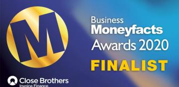 Business Moneyfacts Awards 2020 Finalist