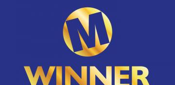 Moneyfacts logo with 'WINNER' written underneath